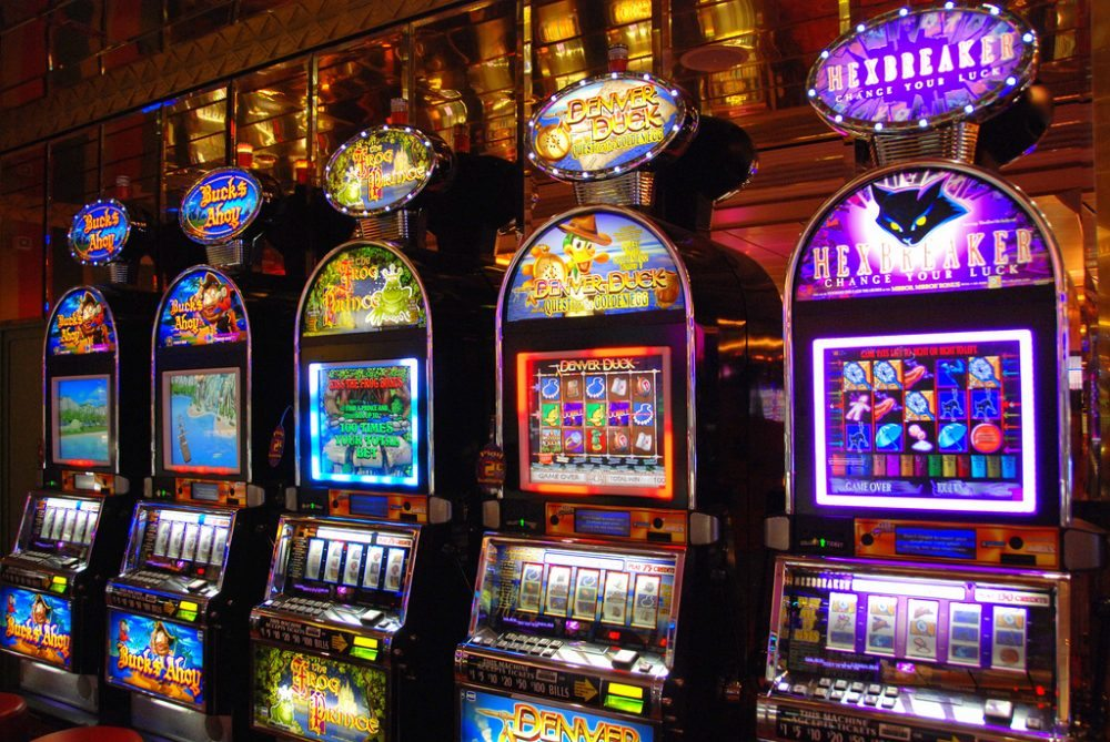 Image of slot machines | Blog post about keyword research on Matthew Rupp Consulting