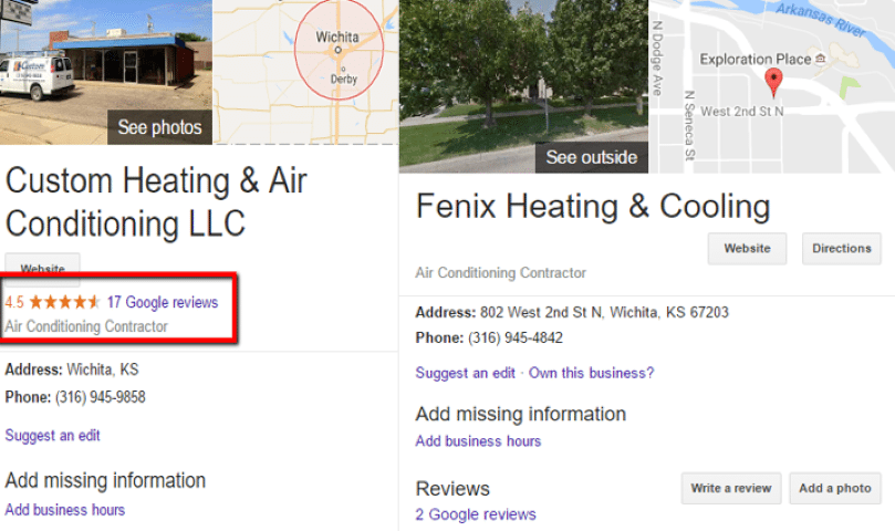 HVAC Santa Post Image 38 Small - Are you tired of seeing Cooks, Hannah and Fahnestock at the top of Google?