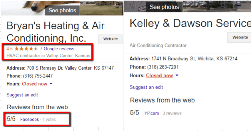 HVAC Santa Post Image 39 Small - Are you tired of seeing Cooks, Hannah and Fahnestock at the top of Google?