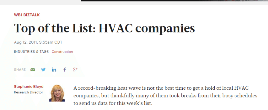 HVAC Santa Post Image 75 Small - Are you tired of seeing Cooks, Hanna and Fahnestock at the top of Google?