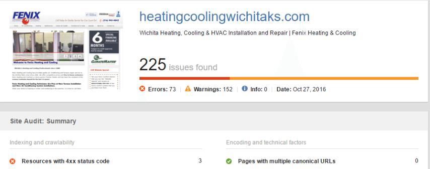 HVAC Santa Post Image 88 Small - Are you tired of seeing Cooks, Hannah and Fahnestock at the top of Google?