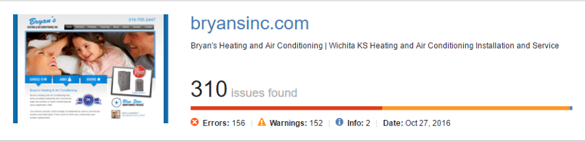 HVAC Santa Post Image 90 Small - Are you tired of seeing Cooks, Hanna and Fahnestock at the top of Google?