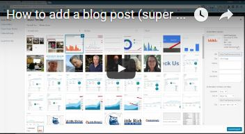 How to Add A Blog Post Super Easy - Local SEO Videos