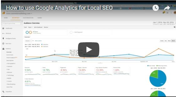 How to use Google Analytics for local SEO - Local SEO Videos