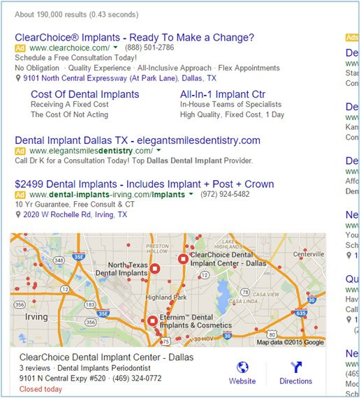 google result - How To Do Paid Advertising The Right Way