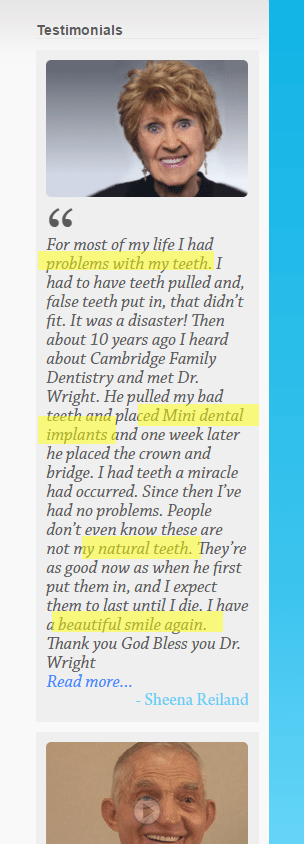 testimonial - How Lashley Family Dentistry Can Get the Love They Deserve (from Google)