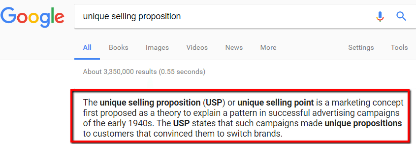 usp - What Is Your Unique Selling Proposition?