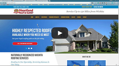 Heartland Roofing ABOUT page is missing - Roofing Companies