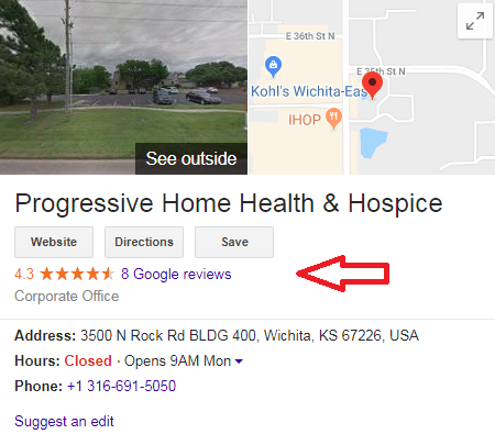 13 10 - Step-by-step guide to increase the website traffic, online visibility and Google rankings for Progressive Hospice