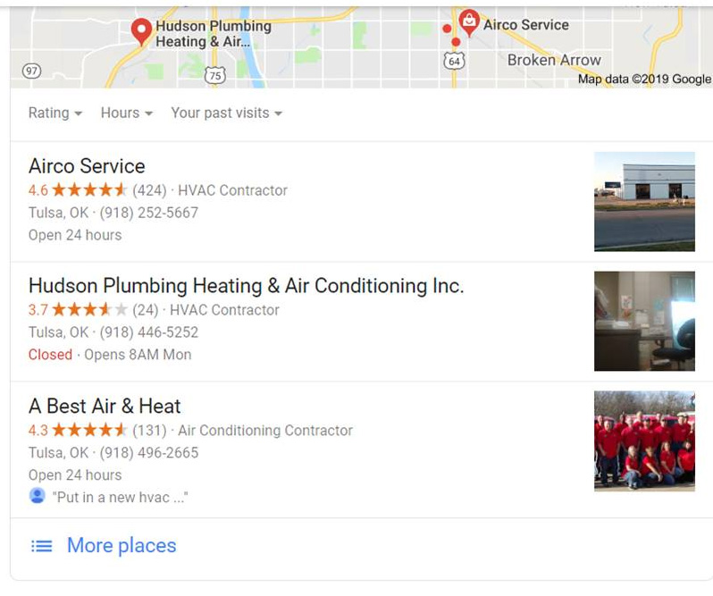 hvac tulsa ok - Are you tired of seeing Vision, A Best, and Airco at the top of Google?