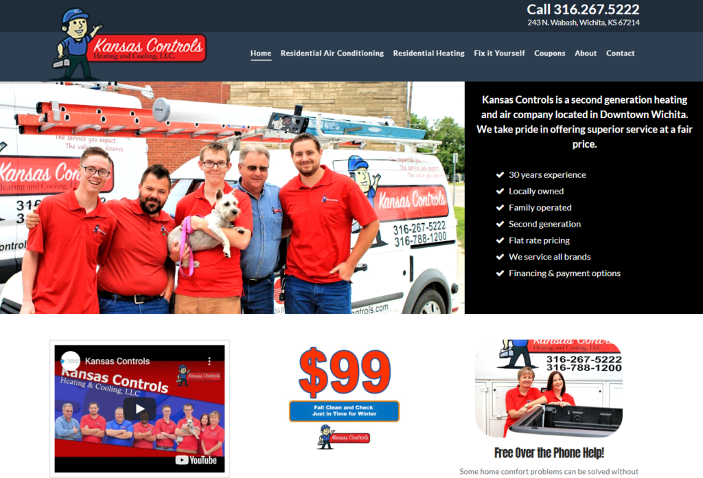 KS Controls front page 1024x696 - Are you tired of seeing another Houston HVAC company at the top of Google?