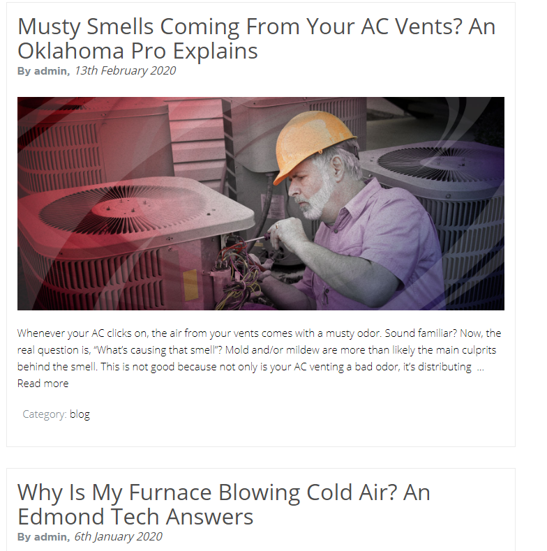 Content Prud guides - Are you tired of seeing another OKC HVAC company at the top of Google?