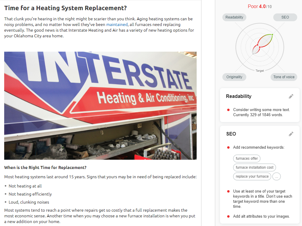 Opt Inter newfurnace - Are you tired of seeing another OKC HVAC company at the top of Google?