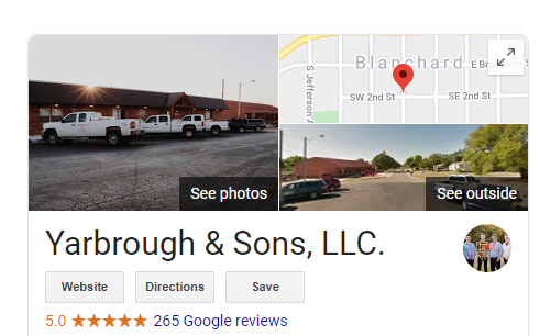Reviews Yarb - Are you tired of seeing another OKC HVAC company at the top of Google?