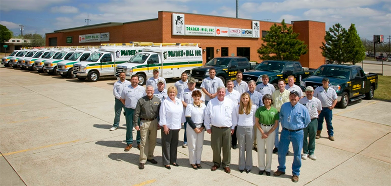 Tell Drabek Teamphoto - Are you tired of seeing another OKC HVAC company at the top of Google?