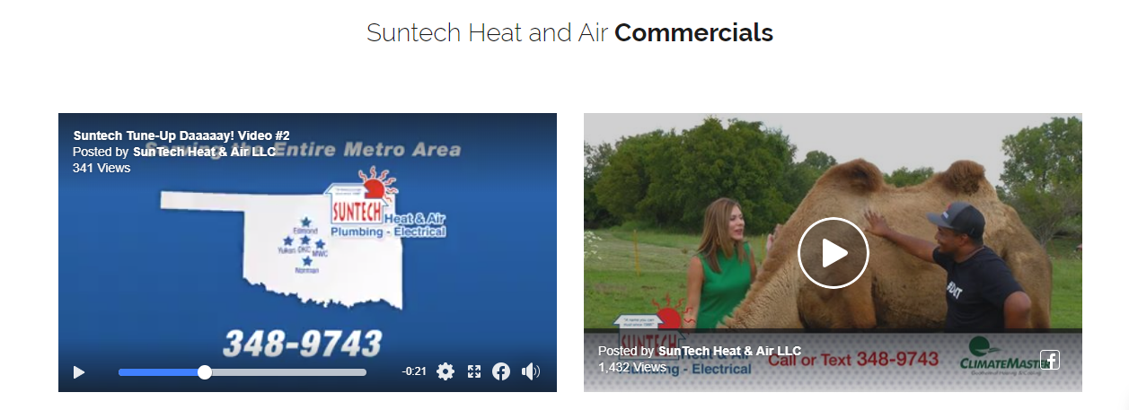VID SunTech Commercials - Are you tired of seeing another OKC HVAC company at the top of Google?