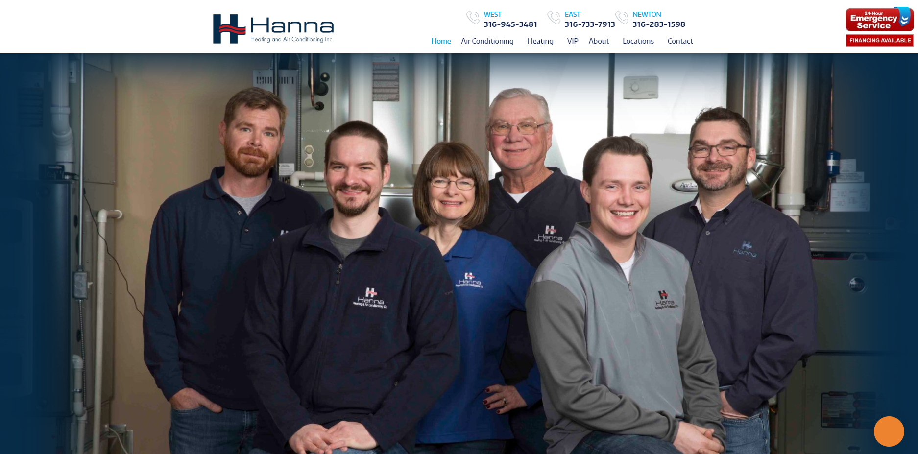 WEB Hanna After1 - Are you tired of seeing another OKC HVAC company at the top of Google?