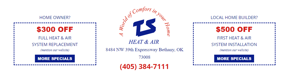 WEB TSSpecials - Are you tired of seeing another OKC HVAC company at the top of Google?