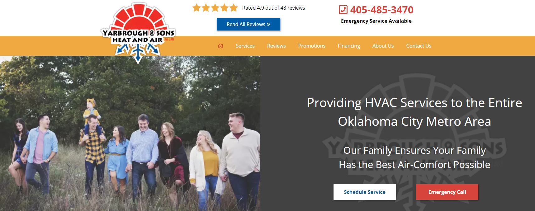 WEB Yarb - Are you tired of seeing another OKC HVAC company at the top of Google?