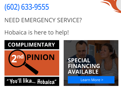 CTA HObiaca boxes - Are you tired of seeing another Phoenix HVAC company at the top of Google?