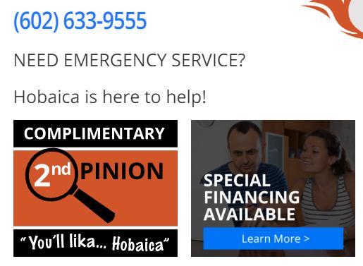 CTA HObiaca boxes - Best HVAC companies in Phoenix, AZ
