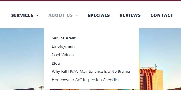 TELL aboutnav PM - Are you tired of seeing another Houston HVAC company at the top of Google?