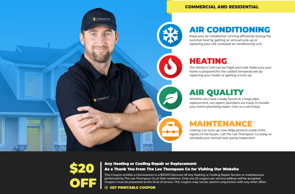 WEB LeeThompson 1024x674 - Are you tired of seeing another Houston HVAC company at the top of Google?