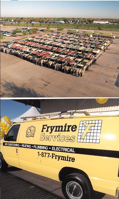 GMB Frymire trucks - Best HVAC Companies in Dallas, TX