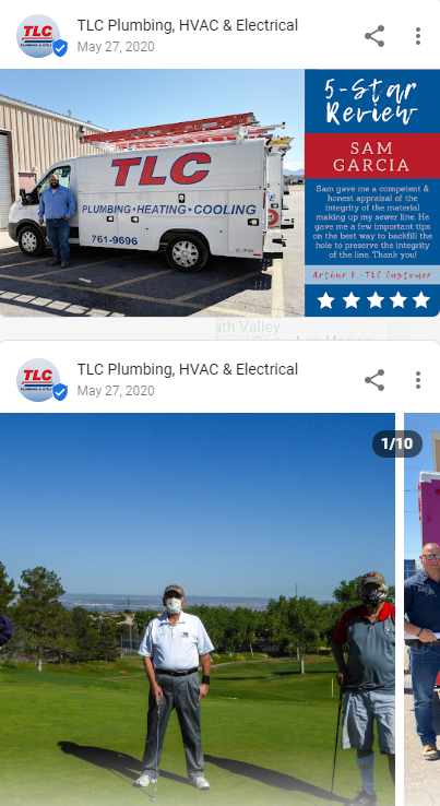 GMB TLC posts - Are you tired of seeing another Albuquerque HVAC company at the top of Google?