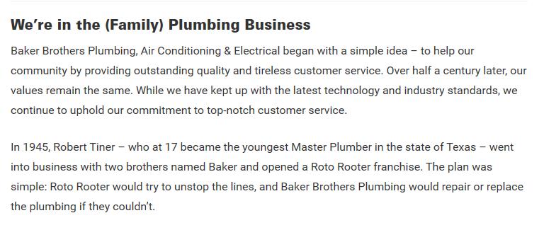Tell Baker founder - Best HVAC Companies in Dallas, TX