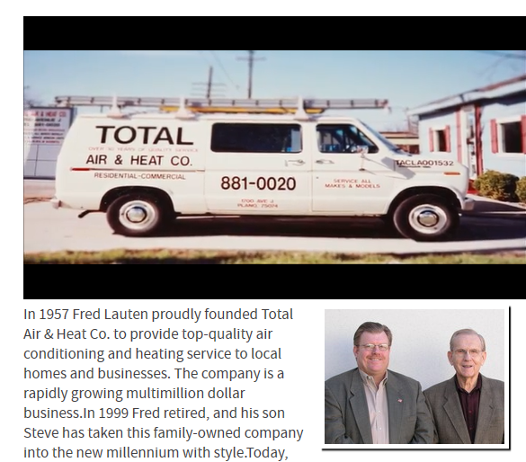 Tell Total HistoryVid - Best HVAC Companies in Dallas, TX
