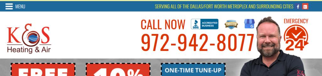 WEB NAV KS none 1024x242 - Best HVAC Companies in Dallas, TX