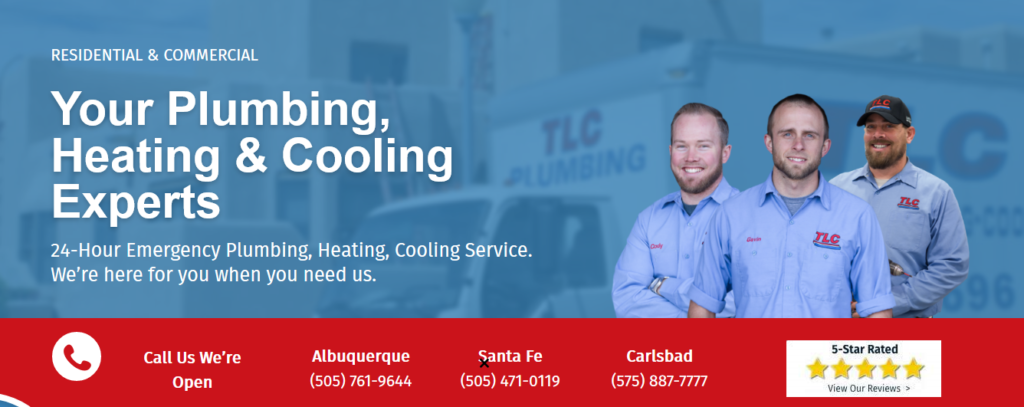 WEB TLC headerpics 1024x407 - Are you tired of seeing another Albuquerque HVAC company at the top of Google?