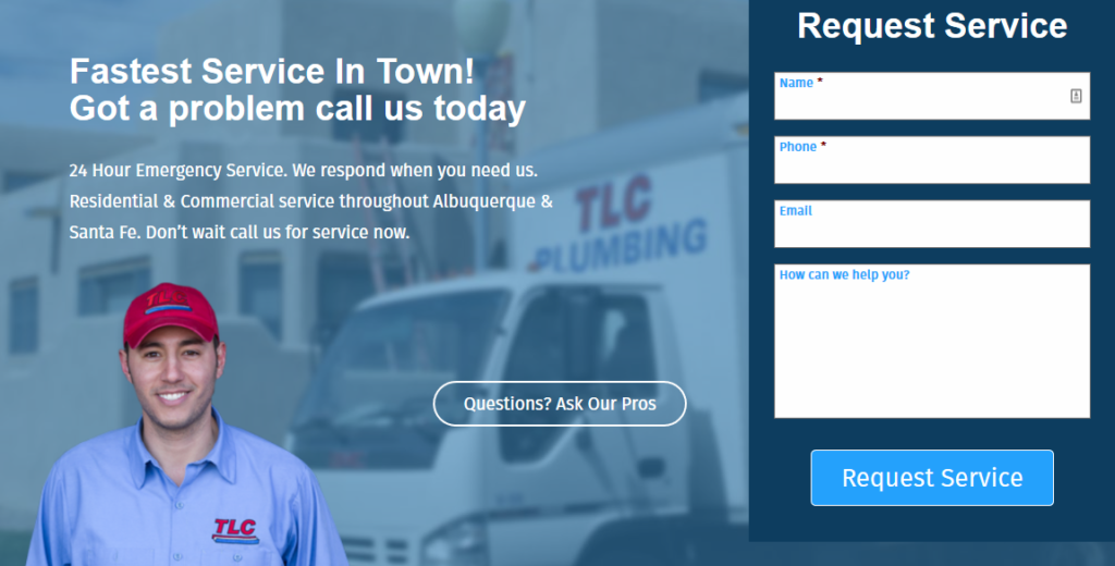 Web TLC request 1024x520 - Are you tired of seeing another Albuquerque HVAC company at the top of Google?