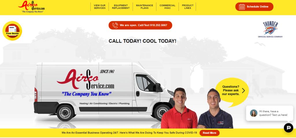 CTA AirCo pagefull 1024x479 - Best HVAC Companies in Tulsa, OK