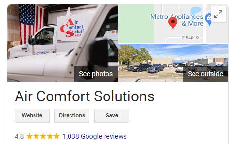 REviews AirComfS - Best HVAC Companies in Tulsa, OK