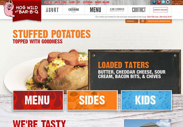 Hog website - Marketing Through Your Customers' Eyes