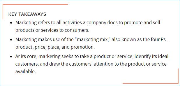 Investopedia - Marketing Through Your Customers' Eyes