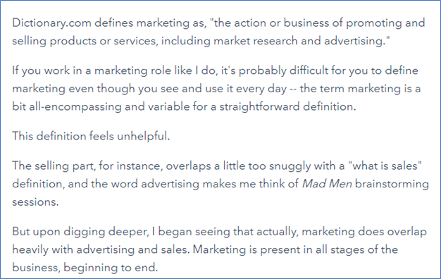 Mkting Hubspot - Marketing Through Your Customers' Eyes